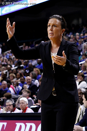 Georgia Tech Head Coach MaChelle Joseph