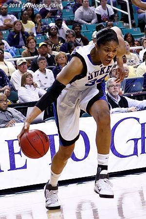 DWHoops Photo  - Duke Tags: #34 Krystal Thomas