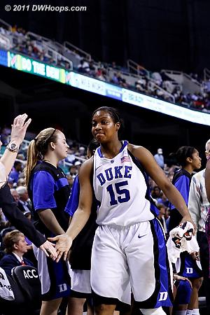DWHoops Photo  - Duke Tags: #15 Richa Jackson