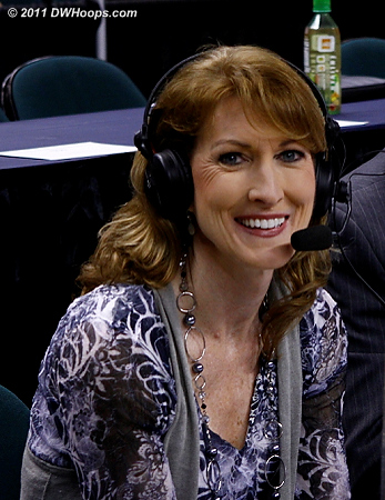 TV Color Commentator Debbie Antonelli