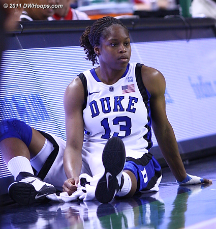 DWHoops Photo  - Duke Tags: #13 Karima Christmas