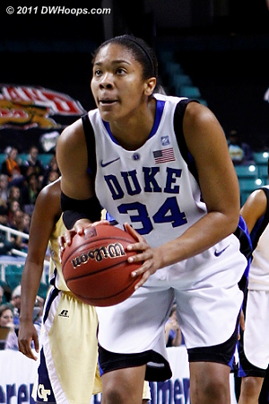 DWHoops Photo  - Duke Tags: #34 Krystal Thomas