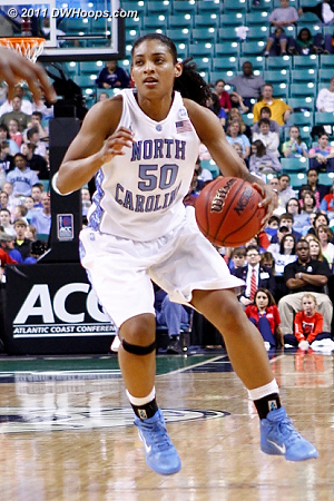 DWHoops Photo  - UNC Players: #50 Italee Lucas