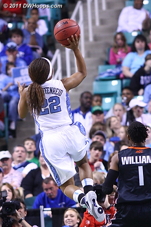 DWHoops Photo  - UNC Players: #22 Cetera DeGraffenreid