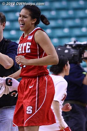 DWHoops Photo  - NCSU Players: #21 Erica Donovan