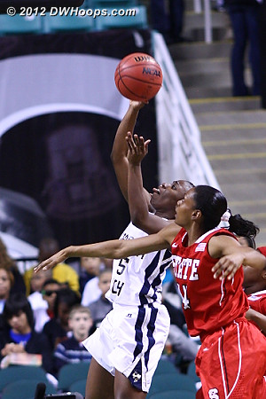 Ty Marshall can't hit  - NCSU Players: #44 Kody Burke - GT Tags: #15 Tyaunna Marshall