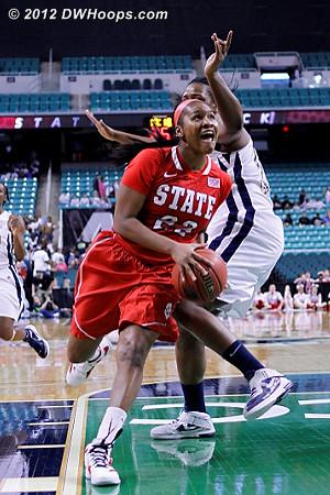 State goes up three  - NCSU Players: #22 Bonae Holston