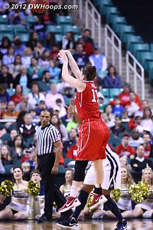 The Wolfpack and Tasler's magic had run out  - NCSU Players: #11 Emili Tasler