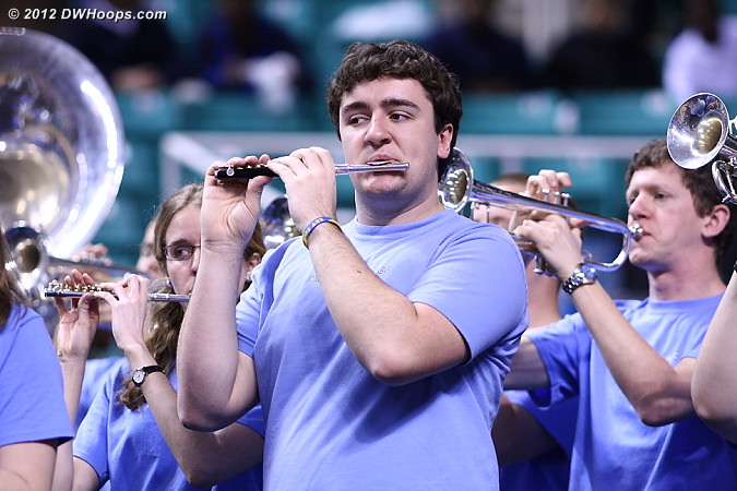 DWHoops Photo  - UNC Players:  UNC Band