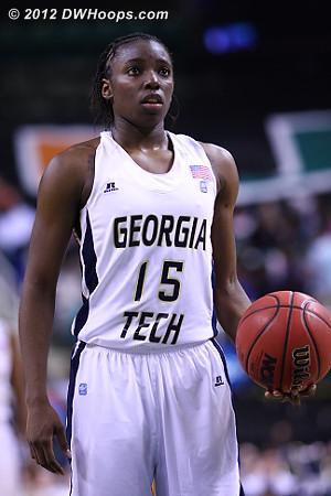 DWHoops Photo  - GT Players: #15 Tyaunna Marshall