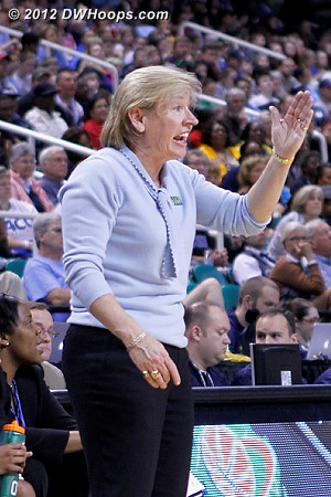 DWHoops Photo  - UNC Players: Head Coach Sylvia Hatchell
