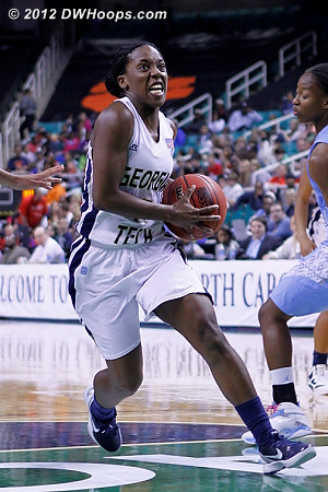 DWHoops Photo  - GT Players: #5 Metra Walthour