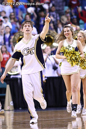 DWHoops Photo  - GT Players:  Georgia Tech Cheerleaders
