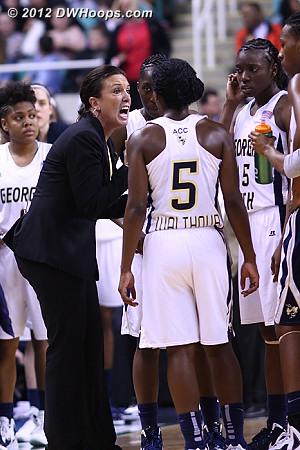 DWHoops Photo  - GT Players: Head Coach MaChelle Joseph