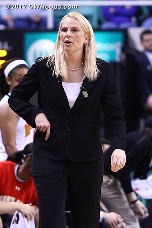 DWHoops Photo  - MD Players: Head Coach Brenda Frese