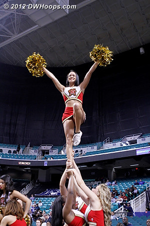 DWHoops Photo  - MD Players:  Maryland Cheerleaders