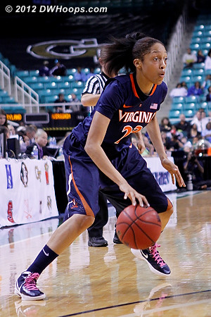 DWHoops Photo  - UVA Players: #23 Ataira Franklin