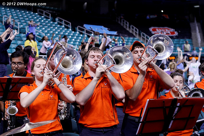 Virginia is left to await the bidding or non-bidding of the NCAA Selection Committee  - UVA Players:  Virginia Band
