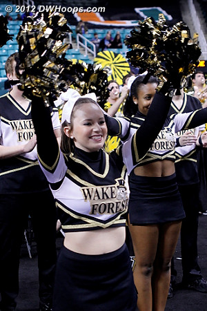We'll caption and tag Wake/Miami photos on Saturday  - WAKE Players:  Wake Forest Cheerleaders