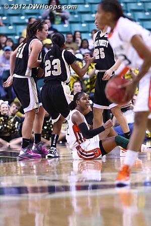 Johnson can't believe it  - MIA Players: #42 Shenise Johnson