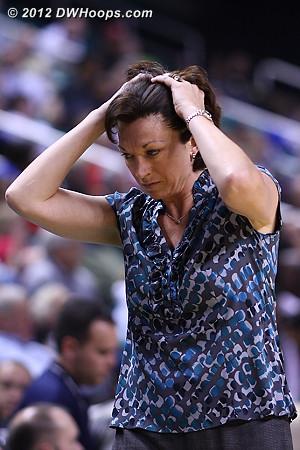 Katie Meier also can't believe the call  - MIA Players: Head Coach Katie Meier