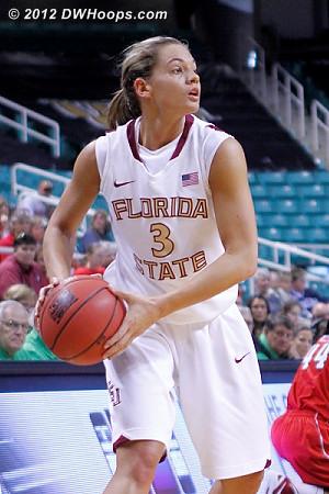 DWHoops Photo  - FSU Players: #3 Alexa Deluzio