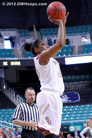 DWHoops Photo  - FSU Players: #00 Chastity Clayton