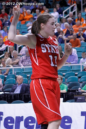 DWHoops Photo  - NCSU Players: #11 Emili Tasler