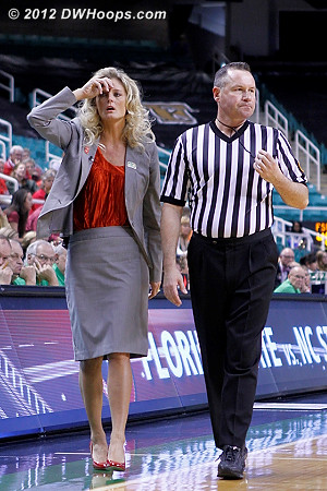 Can't believe Bryan Brunette's call or explanation  - NCSU Players: Head Coach Kellie Harper