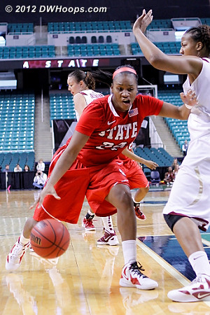 DWHoops Photo  - NCSU Players: #22 Bonae Holston
