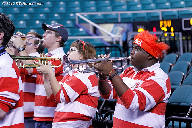 State will face Duke Friday at 3 PM  - NCSU Players:  NCSU Band
