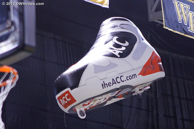 ACC shoe blimp is back