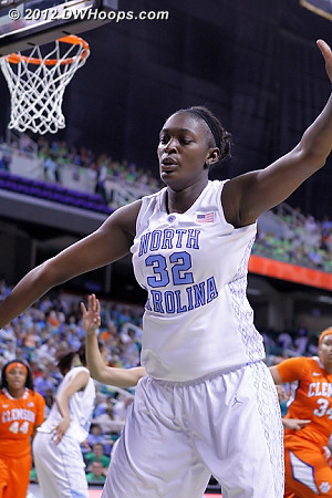 DWHoops Photo  - UNC Players: #32 Waltiea Rolle