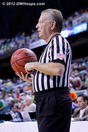 Referee Dennis DeMayo