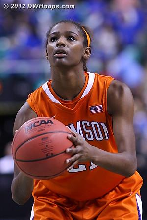 DWHoops Photo  - CLEM Players: #21 Nikki Dixon