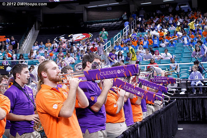 DWHoops Photo  - CLEM Players:  Clemson Band