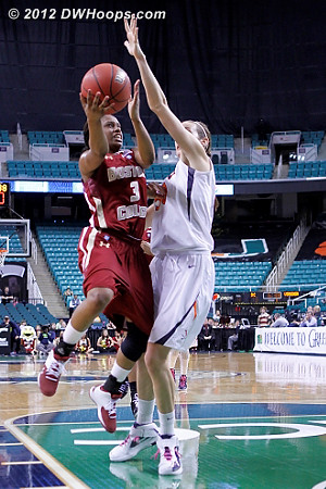 DWHoops Photo  - UVA Players: #50 Chelsea Shine - BC Tags: #3 Tessah Holt