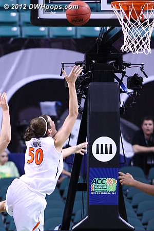 DWHoops Photo  - UVA Players: #50 Chelsea Shine