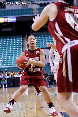 Entry pass  - BC Players: #31 Tiffany Ruffin