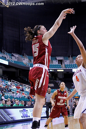 DWHoops Photo  - BC Players: #45 Katie Zenevitch