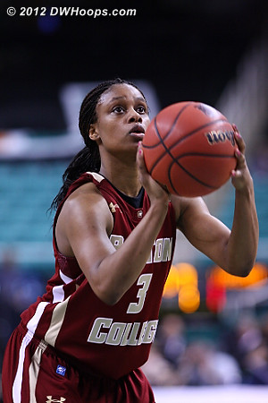 DWHoops Photo  - BC Players: #3 Tessah Holt