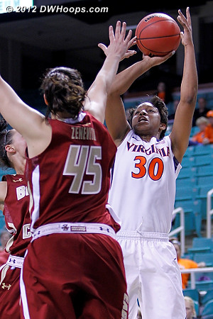 DWHoops Photo  - UVA Players: #30 Telia McCall