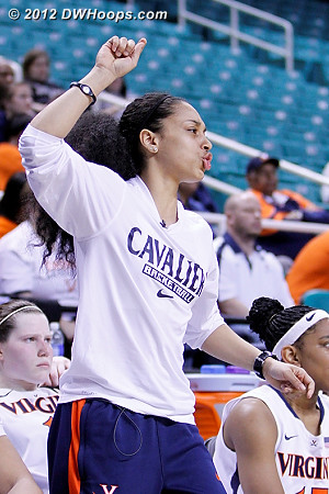 China Crosby's season ending injury was a big loss for Virginia, but she's still a great teammate on the bench  - UVA Players: #1 China Crosby