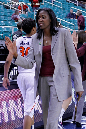 Ballgame  - BC Players: Head Coach Sylvia Crawley