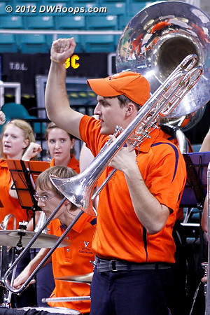 DWHoops Photo  - UVA Players:  Virginia Band
