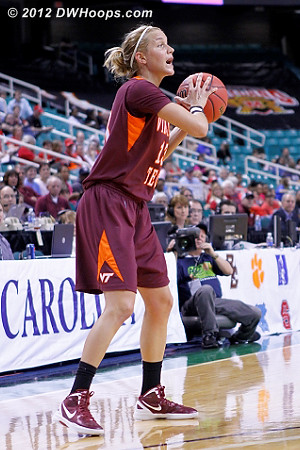 DWHoops Photo  - VT Players: #13 Alyssa Fenyn