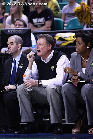 DWHoops Photo  - WAKE Players: Head Coach Mike Petersen, Assistant Coach Natasha Adair