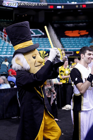 Talents we didn't know he had!  - WAKE Players: Mascot Demon Deacon