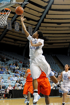 DWHoops Photo  - UNC Players: #44 Tierra Ruffin-Pratt