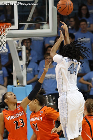 Ruffin-Pratt makes it 27-18 Heels